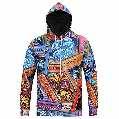 Hot Sale Hoodies Men Novelty Streetwear Sweatshirt With Hooded Hip Hop Harajuku Top Fashion Cool Sweatshirt Sudaderas Hombre L6028 L