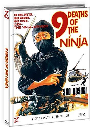 9 Death of the Ninja - Die 9 Leben der Ninja - Uncut - Mediabook - Limited Edition (+ DVD),...