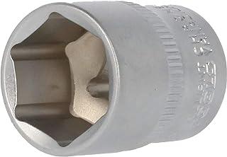 BRILLIANT TOOLS BT021812 3/8 cala sześciokątny klucz nasadowy, 18 mm [Powered by KS TOOLS]