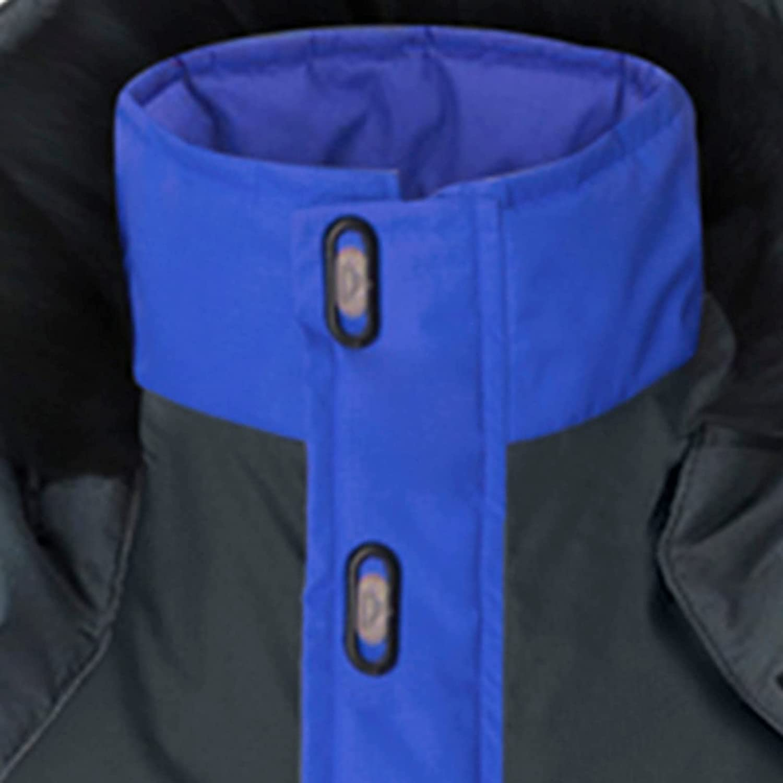 FORUU Windbreaker for Men 2021, Winter Trench Coat Men Splice Coat Plush Lining Warm Jacket Removable Hooded Pocket Coat