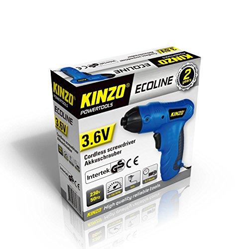 Kinzo 871125271776 Akkuschrauber 3.6V