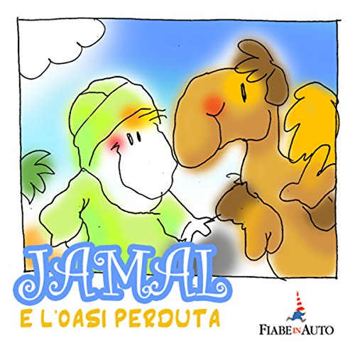 Jamal e l'oasi perduta audiobook cover art