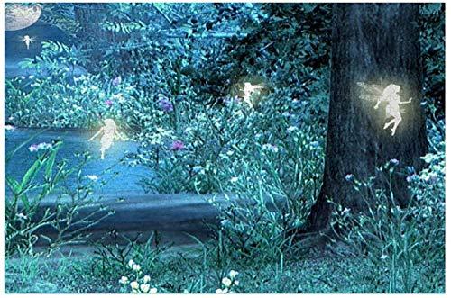 Fairy Night - Rompecabezas grande de 500 piezas para adultos, niños, regalo de bricolaje, rompecabezas de madera