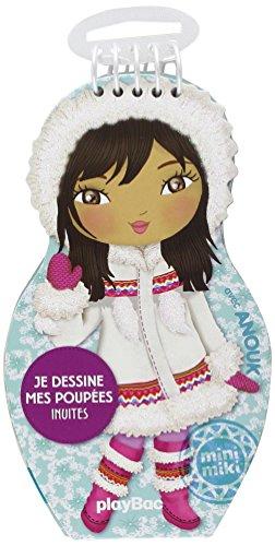 Carnets de dessin Minimiki : Je dessine mes poupées inuites avec Anouk (P.BAC MINI.CARN)