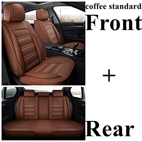 Funda De Asiento Universal Para Land Rover Freelander 2 Discovery Sport Range Rover Velar Jaguar Xe Xf Xj E-Pace F-Pace I-Pace Xel Xfl Funda De Asiento De Coche Accesorios Para Coche,Coffee Standard