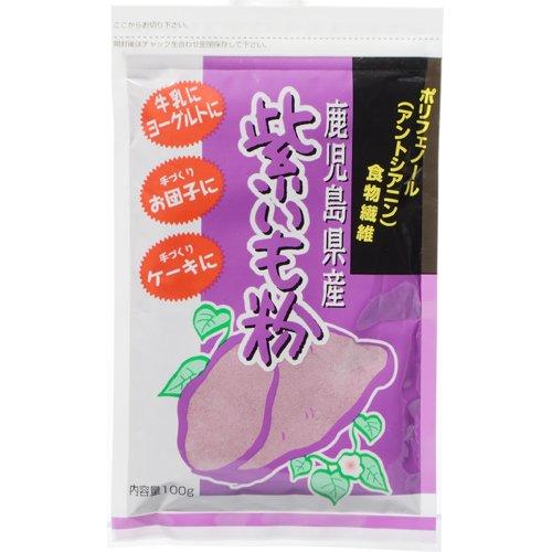 都食品 紫いも粉(鹿児島県産綾紫芋100%使用) 100g