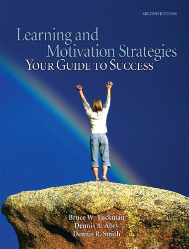 Learning and Motivation Strategies: Your Guide to Success...