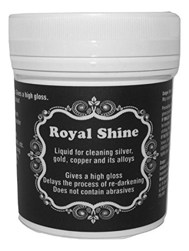Schmuck-Reinigungsbad | Silber- und Gold-Reinigungslösung | Wiederverwendbar 140 ml mit Korb