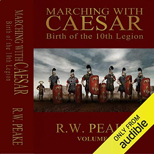 Marching with Caesar audiobook cover art