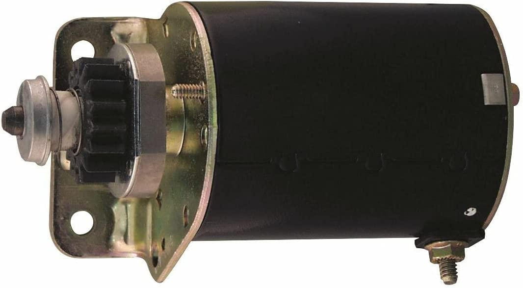 trend rank Owigift 16 Tooth Starter Super sale Motor Replacement for Craftsman 691262