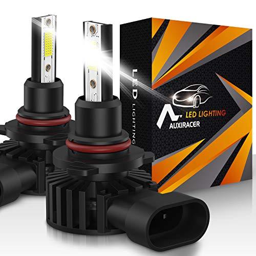AUXIRACER Auto Lighting HB3 9005 LED Bombillas para Faros Delanteros 12000LM 6500K 60W Luz LED para Coche, Faros Delanteros y Faros Antiniebla IP65 a Prueba de Agua (2 PCS)