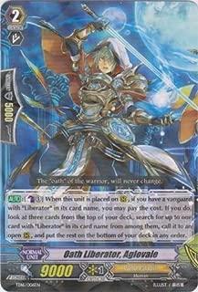 Cardfight!! Vanguard TCG - Oath Liberator, Aglovale (TD16/006EN) - Trial Deck 16: Divine Judgement of the Bluish Flames