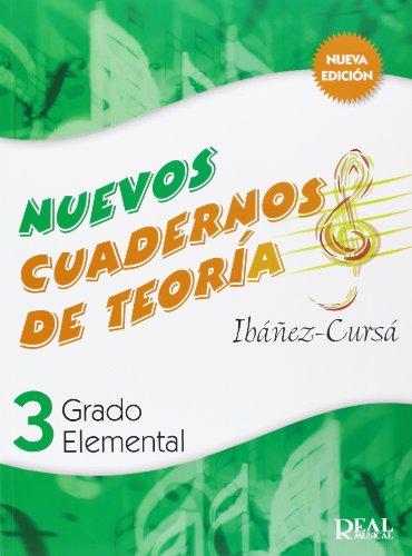 Cuadernos de Teoría, Grado Elemental Volumen 3 (RM Teoria de la musica)