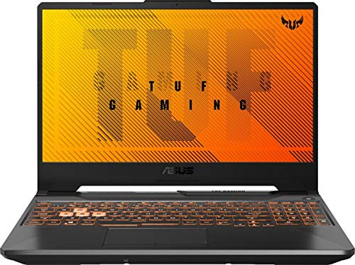 ASUS TUF Gaming A15 Notebook (15,6 Zoll FullHD IPS matt) AMD Ryzen 9 4900H 8X 3.30 GHz, NVIDIA RTX 2060 6GB, 16GB DDR4 3200 MHz, 512GB M.2 PCIe SSD, Windows 10 Pro schwarz