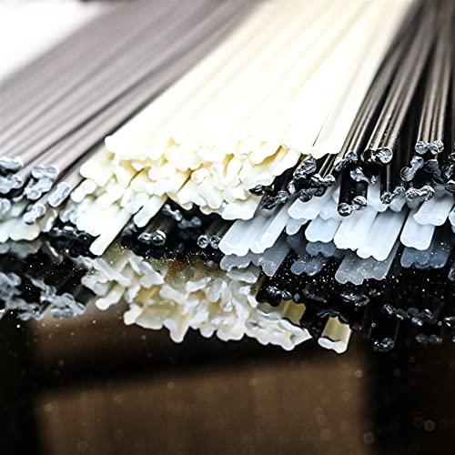 WYanHua-varilla de soldadura Barras de soldadura de plástico de 5x2 mm, para herramientas de reparación de parachoques de automóviles, 200 mm de longitud ABS / PP / PE / PAPOS DE SOLDADURA DE SOLDADUR