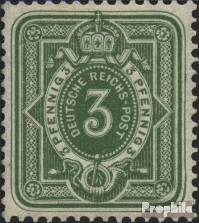 Prophila Collection Tedesco Empire 39aa testati 1880 Crown Adler (Francobolli per i Collezionisti)