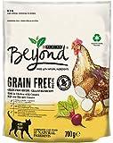 Purina Beyond Grain Free - Pienso Natural con Pollo para Gatos, 6 x 700 g