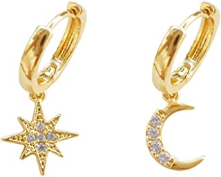 Best small gold hoop earrings with charm Reviews