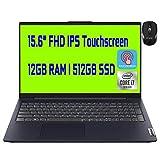 Flagship Lenovo Ideapad 5 15 Business Laptop Intel Quad-Core i7-1065G7 15.6' FHD IPS Touchscreen Display 12GB DDR4 512GB SSD Fingerprint Backlit KB Dolby USB-C Win 10 + iCarp Wireless Mouse