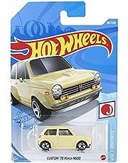 ホットウィール(Hot Wheels) ベーシックカー カスタム '70 ホンダ N600 HBP02 クリーム