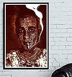 DAQIANSHIJIE Película Trainspotting Poster Pintura de la Pared Sala de Estar Pintura al óleo Pasillo Dormitorio decoración del hogar Pintura 50X70cm sin Marco
