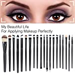 Beauty Shopping EmaxDesign 20 Pieces Makeup Brush Set Professional Face Eye Shadow