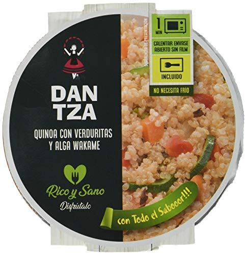 Conservas Dantza Quinoa con Verduras y Alga Wakame Dantza 250 g