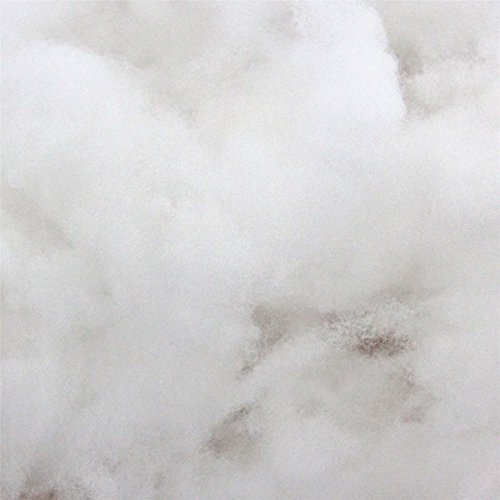 HOMESCAPES Rembourrage Polyester, Ouate de Rembourrage, Garnissage synthétique en Microfibre, Sac de 1kg