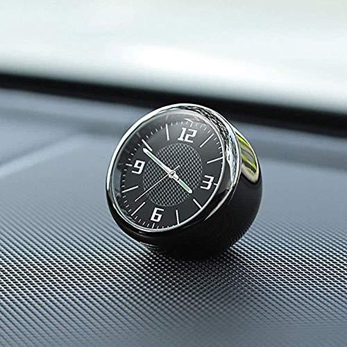 ZQTG Reloj para automóvil con Logotipo Decoración Interior modificada Adornos para automóvil Adecuado para God Aurora Range Rover Star Discovery 5 Land Rover Discovery