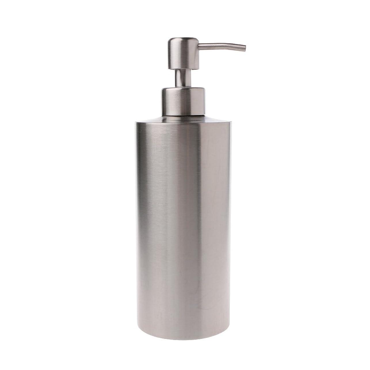 厚い通知するエコーLamdoo 304ステンレス鋼ポンプ液体石鹸ローションディスペンサーボトルキッチンバスルーム