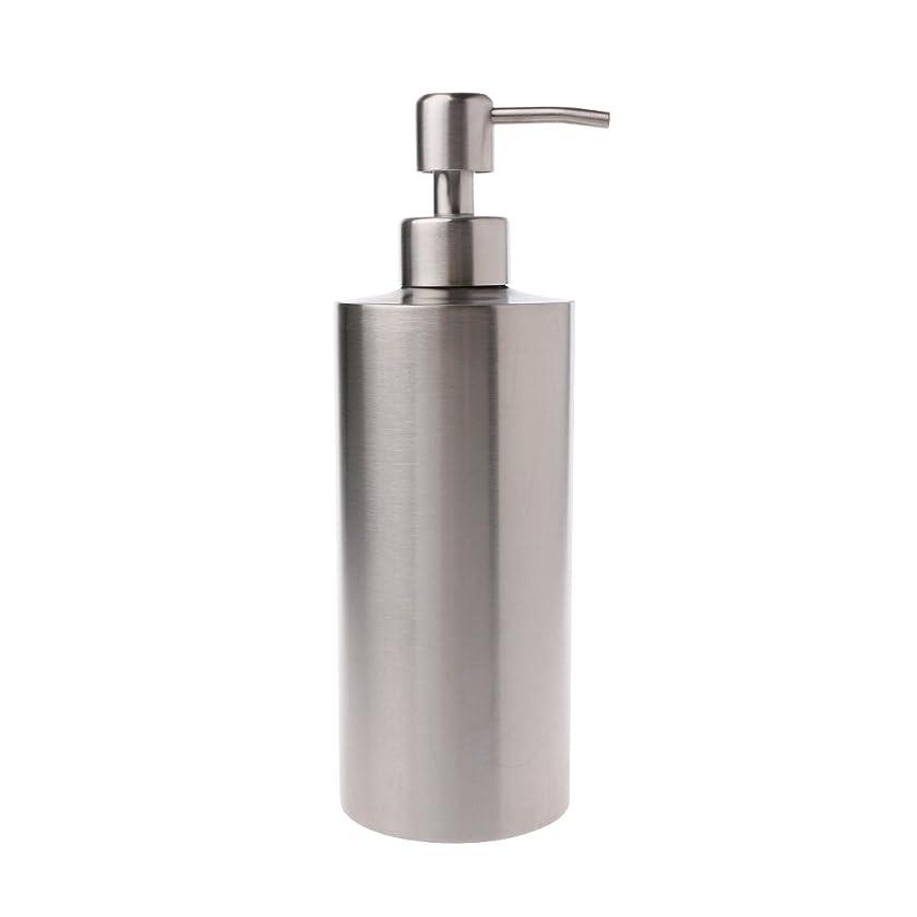 エンディング農村ラッドヤードキップリングLamdoo 304ステンレス鋼ポンプ液体石鹸ローションディスペンサーボトルキッチンバスルーム