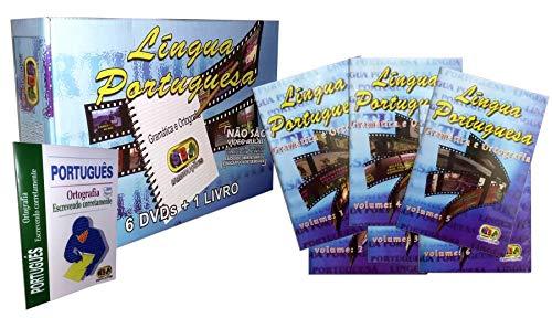 Língua Portuguesa Gramática e Ortografia 6 DVDS + 1 Livro