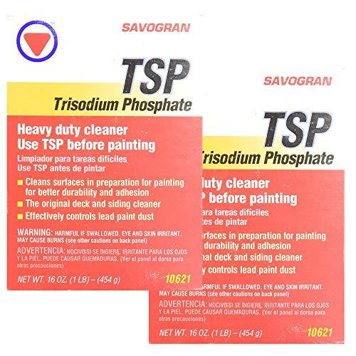 Savogran 10621 Trisodium Phosphate (TSP) 1LB (16oz) - 2...