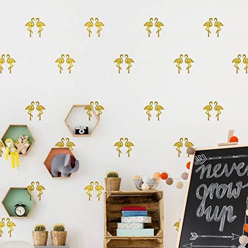 LGDBY PVC gouden vliegtuig muur sticker woonkamer slaapkamer trappen kast muurschilderingen winkel hotel decoratieve poster
