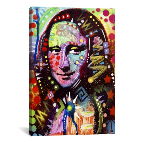iCanvasART Mona Lisa by Dean Russo Canvas Print #13532 – 26