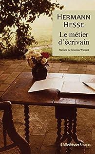 Le métier d'écrivain par Hermann Hesse