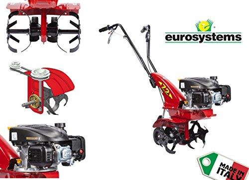 GrecoShop Motozappa/Trattore/Motocoltivatore 3,0HP EuroSystem - OHV 123