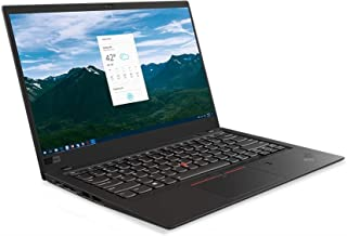 Lenovo ThinkPad X1 Carbon Commercial Laptop, Intel Core i7-8565U, 14 Inch WQHD, 512GB SSD, 16GB RAM, Integrated Intel UHD ...