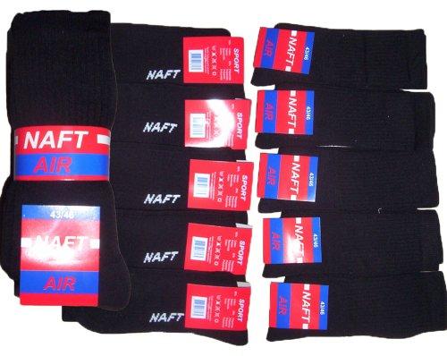 r-dessous 10/20 Paar Herren Socken Arbeitssocken Sportsocken robuste atmungsaktive Berufssocke Baumwolle Groesse: 43-46