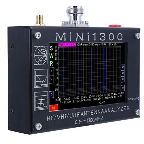 Analizador de redes vectoriales Mini1300 Analizador de antenas de ondas estacionarias ligero...