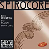Thomastik Single string for Double Bass 4/4 Spirocore - A-string spiral core, chrome wound, solo tuning, medium