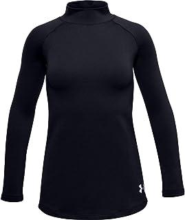 Under Armour Girls' ColdGear Long Sleeve Mock T-Shirt