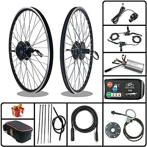 RICETOO Kit de conversión de Bicicleta eléctrica 36V / 48V