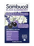 Sambucol Black Elderberry Cold & Flu Relief Tablets 30 ct