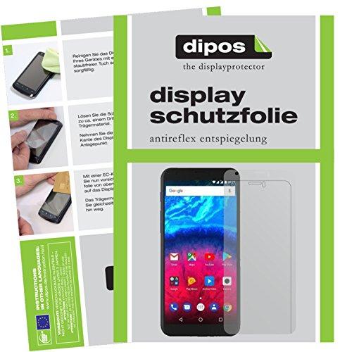dipos I 2X Schutzfolie matt kompatibel mit Archos Core 60S Folie Bildschirmschutzfolie