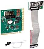 Optimal Shop 4 Digit PCI and ISA PC Computer Motherboard Power Diagnostic Analyzer Post Tester Card