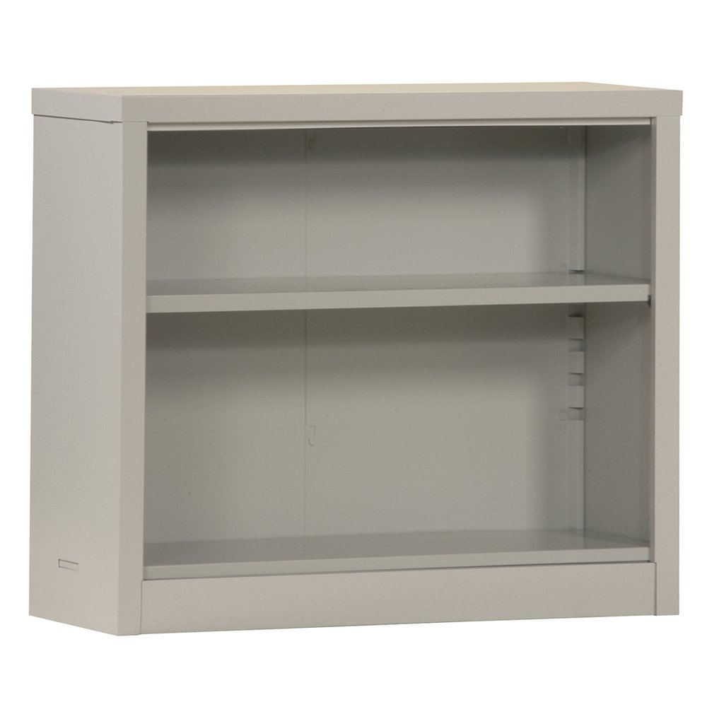 Sandusky Lee Bq10351330 09 Dove Gray Steel Powder Coated Snapit Bookcase With Adjustable Shelf Fixed Bottom Shelf 200 Lb Per Shelf Capacity 30 Height X 34 1 2 Width X 13 Depth Industrial