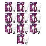 Philips 8.5-Watt Standard B22 LED Bulb (Pack of 10, Cool Day White)