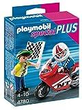 PLAYMOBIL Especiales Plus - Niños con Moto de Carreras, playset (4780)