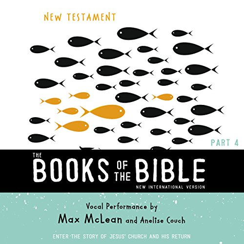 The Books of the Bible Audio Bible - New International Version, NIV: (4) New Testament audiobook cover art